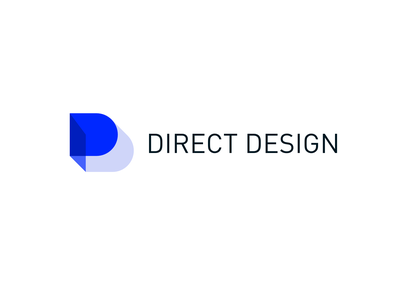 Direct Design Logo identity logo