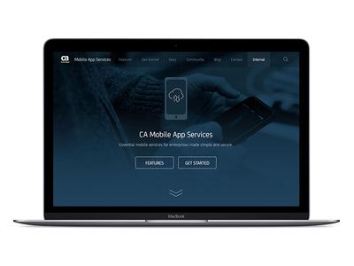 Mobile App Services enterprise services app api mobile
