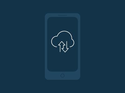 CA Mobile Application Services Logo mobile icon logo