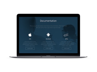 CA Mobile Application Services Documentation