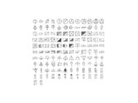 Hand Drawn Geometric Icons