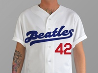Beatles Baseball Jersey