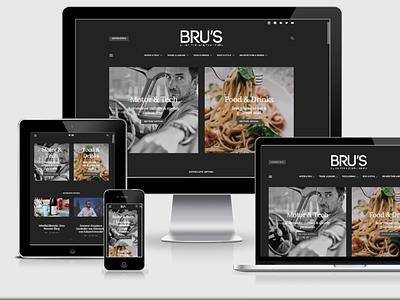 BRUs Lifestyle Magazine webdevelopment