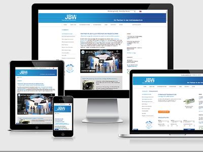 JBW Elektromotore webdesign webdevelopment