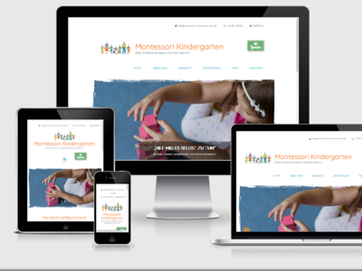 Montessori Kindergarten webdesign webdevelopment