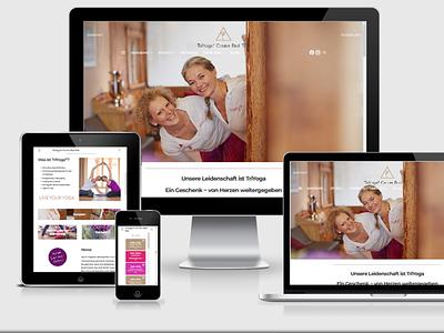 TriYoga Center webdesign webdevelopment