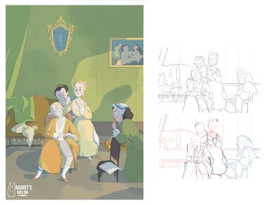 #VersionaThyssen VIII photoshop museum creative digital illustration digital art artwork art illustration