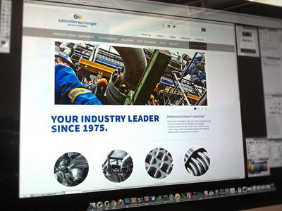 Edmonton Exchanger Website Design