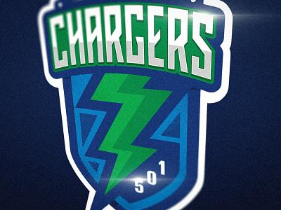 Chargers Logo branding mark design illustration vector logo mascot hockey