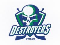 Destroyers Hockey Logo