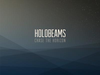 Holobeams artwork glasgow subtle design scotland cover art electronic music graphic design condensed geometric narrow water