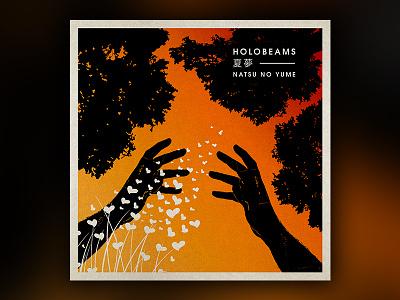 Album Art WIP wip sleeve record orange japan album illustration art warm music