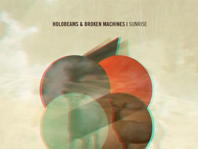 Holobeams Single Artwork dreamy spectroscopic warm abstract texture music cover art gasgow scotland electronic