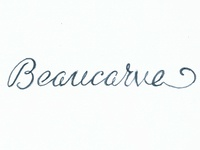 Beaucarve Logo Sketch