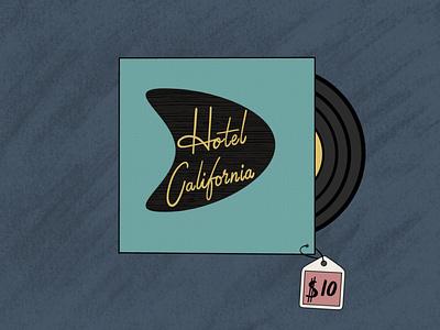 Mid Century Retro Vinyl Record Design Play resource vinyl modern retro brush stamps stamps procreate brushes procreate midcentury mid century design lettering