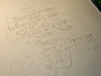 On this Day Lettering