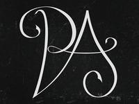 Logo design lettering PA