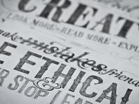 Hand Rendered Design Manifesto
