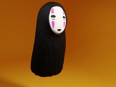 No Face. illustration design blender blender3d