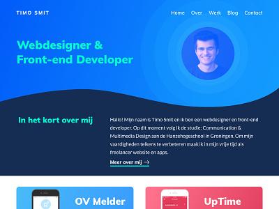Portfolio Website Redesign website ui redesign portfolio