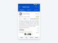 Bitbucket Android App Concept