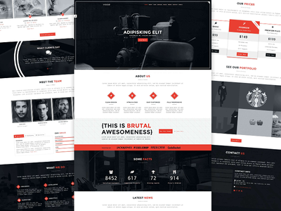 VIGGO - One Page HTML5 Website Template website themetorium template responsive parallax one page html5 fullscreen css3 creative portfolio bootstrap
