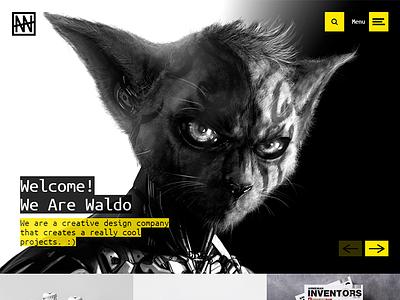 Waldo - Creative Portfolio & eCommerce HTML Website Template website themetorium theme template responsive portfolio html5 gallery ecommerce css3 creative blog