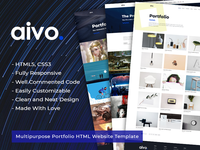 Aivo - Multipurpose Portfolio HTML Website Template
