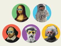 Historical Figures Avatars