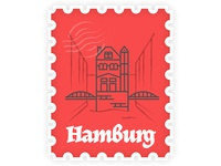 Hamburg Stamp