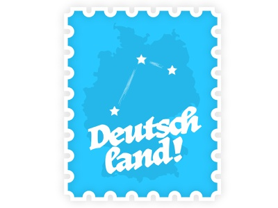 Deutschland Stamp Map europe illustration travel stamp deutschland germany