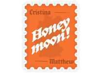 Honeymoon Stamp
