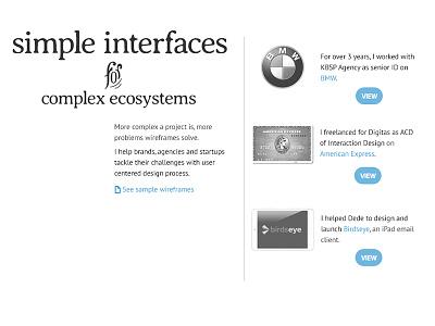 portfolio redesign portfolio typography