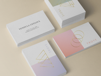 Troye business cards
