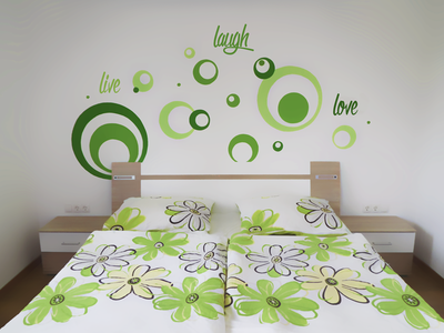 live, laugh, love bedroom painting wall live laugh love circles