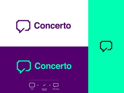 Concerto Logo Design