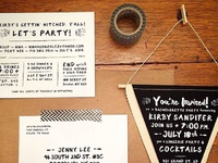 NYC Bachelorette Party Invitation