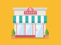 Shake shop