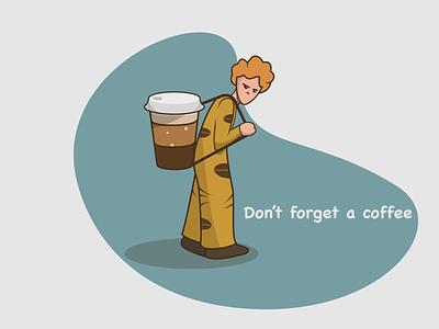 CoffeeGuy coffee store coffee shop coffe restaurant food vector illustration