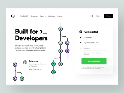GitHub: Homepage
