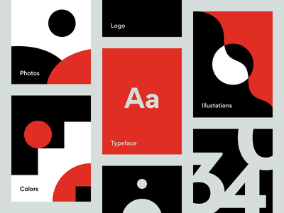 Visual identity for digital products design system identity design idenity product design branding visual identity visual design