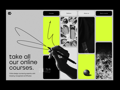 visual identity: landing page web design web page web landing landing page visual identity branding identity edtech