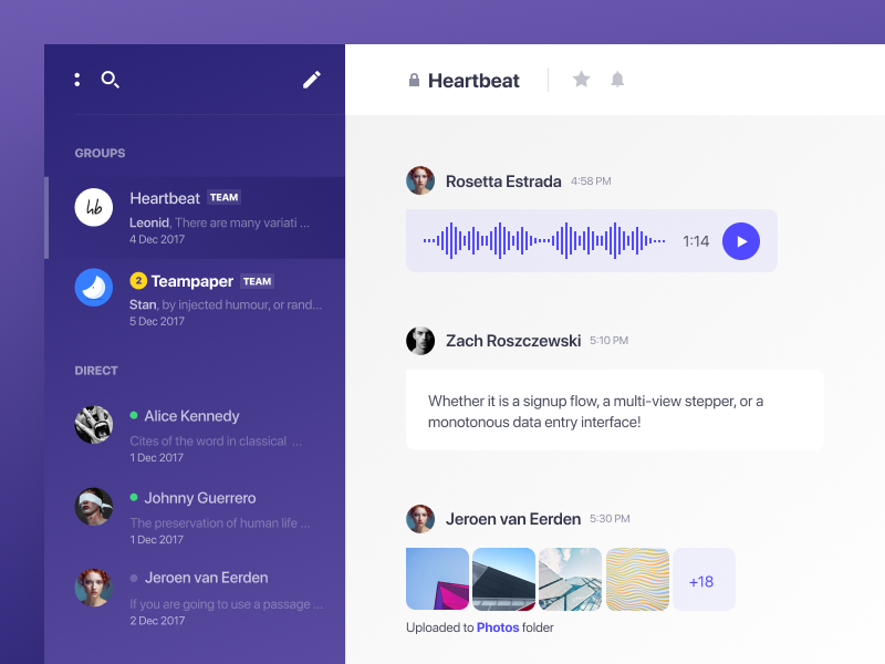 UI Inspiration: More Hand-picked UI/UX Interactions
