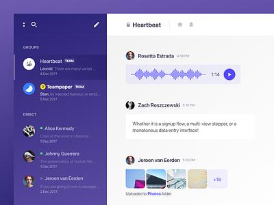 Chat 💬 os mac group team messager chat desktop app