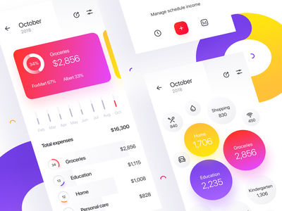 Money Tracker: Reports transaction stats money mobile finance expenses reports category app accounting
