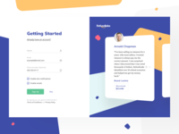 Refundlabs: Login and Sign Up