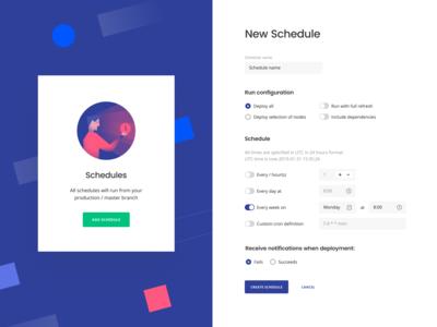 Dataform: New Schedule