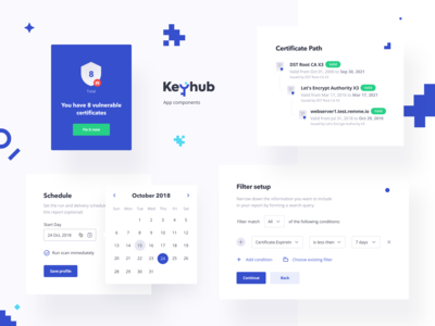 Keyhub: Cards and Email