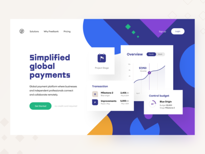 Freelancers' Bank 🎯Header