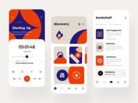 Audioshelf: Player, Discovery, Bookshelf